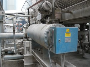 75kW Line Heater in service at drying plant
